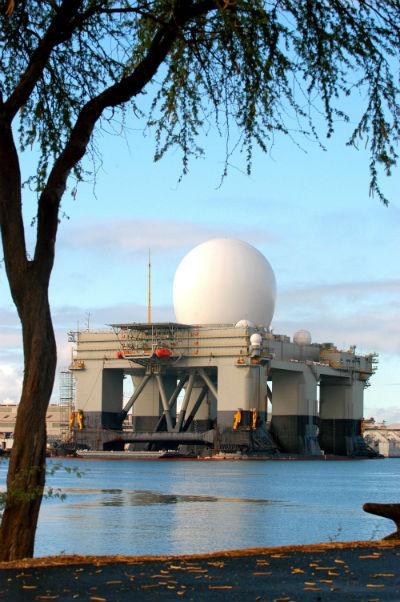 Sea-Based X-Band Radar