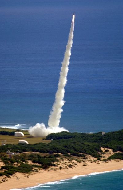 Coastal Missile Launch